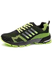 Wealsex Unisex-adulto Zapatos Para Correr En Montaña Asfalto Aire Libre Deportes Zapatillas De Running Para Hombre Mujer