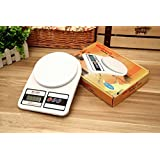 Shoppy Ks Digital Kitchen Weighing Scale,White