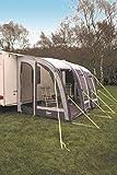 Leisurewize Ontario Air 390Vorzelt Caravan Veranda Markise–Grau/Anthrazit