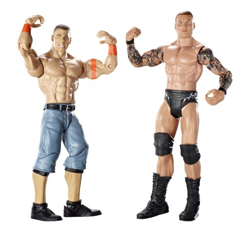 Randy Orton & John Cena Figuren Set - WWE Basis Doppelpacks 8
