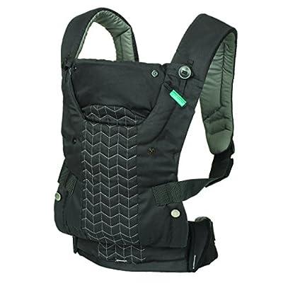 Infantino Upscale Carrier, Black, One Size  Close Parent Ltd
