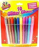10 Glitter Glues Pens Glitter Glue Sticks Non Toxic Glue Craft Glitter Glue New by ARTBOX