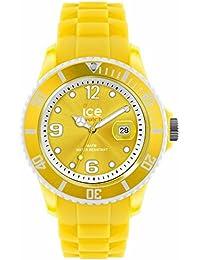 ICE-Watch - Montre Mixte - Quartz Analogique - Ice-Paradise - Sunshine - Unisex - Cadran Jaune - Bracelet Silicone Jaune - SI.SUN.U.S.13