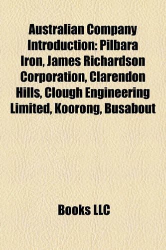 australian-company-introduction-pilbara-iron-james-richardson-corporation-kamco-clarendon-hills-dyna