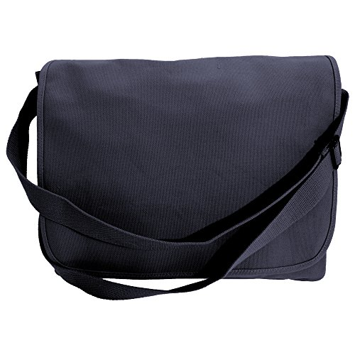 Bagbase - Classic - Classica Borsa Messenger in Tela French Navy