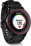 Garmin Forerunner 225 GPS Running Watch with Wrist Based Heart Rate and Colour Display - Black/Red