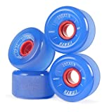 JUCKER HAWAII Longboard Rollen / Wheels STREETBALLS - SUPER BALLS Blue
