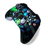 Xbox One S Manette sans Fil Pro Console Xbox Manette avec Prise en Main Douce et Skin Version personnalisée Exclusive Xbox - Boîte Verte.