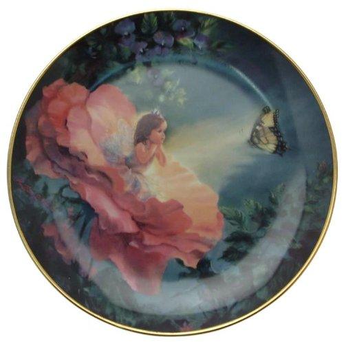 Danbury Mint The Enchanted Garden Golden Butterfly Mary Baxter St. Clair cp1722 Golden Garden Teller