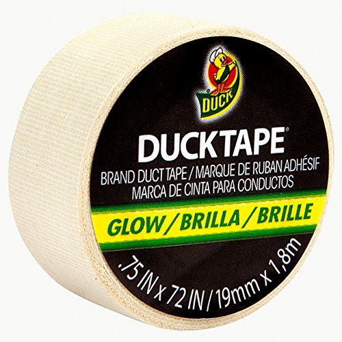 Duck Brand Glow-In-The-Dark Gaffers Duck Tape: 3/4 in. x 6 ft. (Luminescent Lime Green) by Duck (Glow In The Dark-panel)