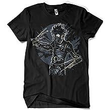 Camisetas La Colmena 4172-Camiseta Premium, Gas Mask Scissors