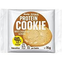 Body Attack Protéines Cookie 75g Chocolat Blanc et amandes