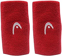 Head Wristband Tennis 5 Inch (Red)