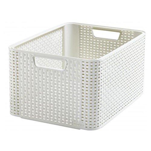 CURVER Aufbewahrungsbox, Polypropylene, Elfenbein, 43.6 x 32.6 x 22.8 cm, 3
