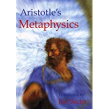Aristotle's Metaphysics by Joe Sachs (1999-03-01)