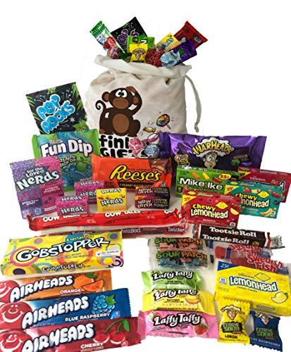 Der Amerikanische Eine | Amerikanische Süßigkeiten Geschenkkorb | Amerikanische Süßigkeit USA Geschenktüte | Candy Hamper Süßwaren & Schokolade (Candy Lemonhead)