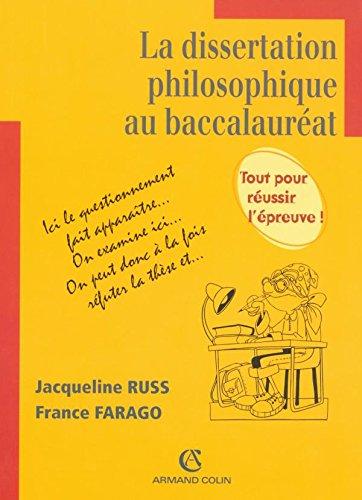 La dissertation philosophique au baccalauréat