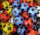 """PVC Football 8"""" 25cm (Deflated) 12 Pack Assorted Colours"""