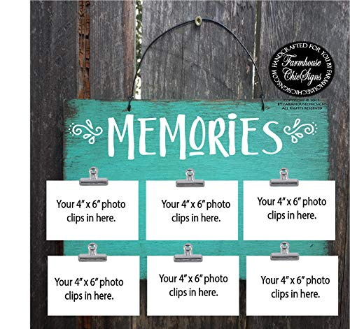 CELYCASY Memories 315 Gedächtnisschild für kreative Erinnerungen, Reiseerinnerungen, Erinnerungen, Babys, Erinnerungen