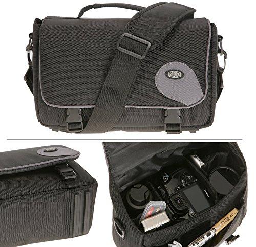 Bilora 287-90 Standard Promo Fototasche passend für Canon: EOS 500D, 450D, 400D, 1000D, Nikon: D40, D60, D80, Panasonic: FZ28, FZ38
