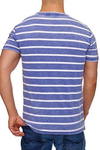 447bf6439ff7 TAZZIO Herren Classic Sweatshirt Navyblau Tazzio Fashion Hauts