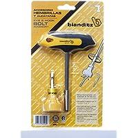 Bianditz 238946 - Mango en T y accesorio para hembrillas y alcayatas