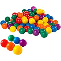 Intex Lot de 100 boules colorées