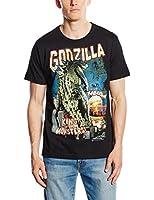 Logoshirt Herren T-shirt - Godzilla - King Of The Monsters