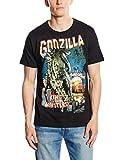 Logoshirt Herren T-Shirt - Godzilla - King of The Monsters, Gr. L, Schwarz - Schwarz