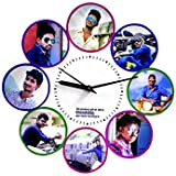 PERSONALISED/CUSTOMISED PHOTO WALL CLOCKS FOR HOME DECOR AND GIFTING YOUR LOVED ONES FOR ALL OCCASIONS AND PARTIES PHOTO WALL CLOCKS GIFT CLOCKS PERSONALISED PHOTO GIFT WALL CLOCK CUSTOMISED PHOTO WALL CLOCKS PERSONALISED GIFTS