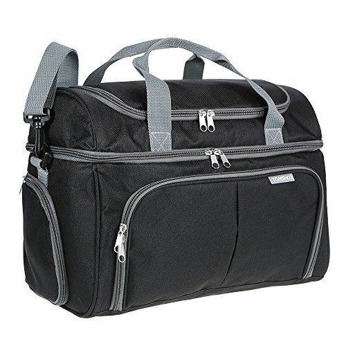 Tomshoo borsa termica, borsa pranzo, 20l picnic pieghevole isoterma, borsetta all'aperto, deposito borsa con tracolla grande capacità per campeggio, scuola, lavoro