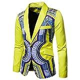Dragon868 Herren Sakko Afrikanische Mode Dashiki Cardigan Jacke Super Qualität