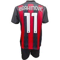3R SPORT SRL Completo Milan Zlatan Ibrahimovic 11 Replica Autorizzata Bambino (Taglie-Anni 2 4 6 8 10 12) Adulto (S M L…