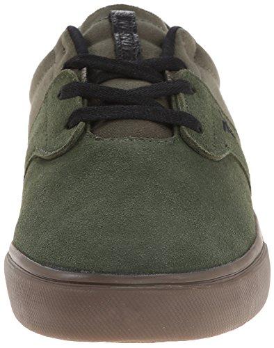 FALLEN CHIEF XI BLACK/DIY CAMO THOMAS Signature Skate Shoes SURPLUS GREEN/GUM