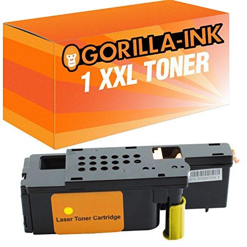 Preisvergleich Produktbild Gorilla-Ink® 1x Toner XXL Yellow kompatibel zu Xerox 6020 WorkCentre 6025 WorkCentre 6027 Phaser 6020 6020 BI 6022