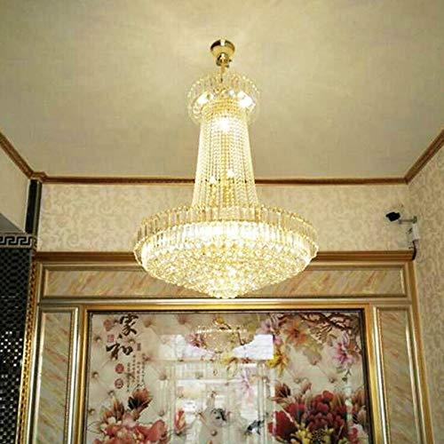 Empire Silber Moderne Kronleuchter (Freies Verschiffen Royal Empire Golden Crystal Kronleuchter Licht Französisch Kristall Deckenpendelleuchten D600mm X H700mm)