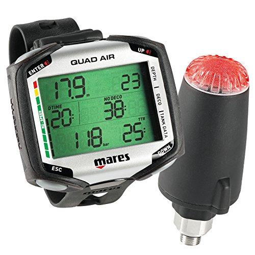Mares Quad Air avec émetteur - Ordinateur de plongée avec gestion d'air intégrée