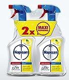 Napisan Spray Igienizzante Multisuperfici, Limone e Menta, 2 Confezioni da 750 ml