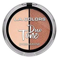 L.A. Colors Duo Tone Eyeshadow, Glow, 4.5g