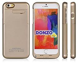 DONZO - JUST ENERGY  LED Status AnzeigePower on/off SchalterAufladbar mit dem mitgelieferten micro USB KabelHartschale mit integriertem Akku   LIEFERUMFANG:  DONZO Energy Case Handy Akku für Apple iPhone 6 oro