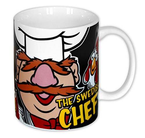 Taza The Muppets Show 'The Swedish Chef/El Cocinero Sueco'