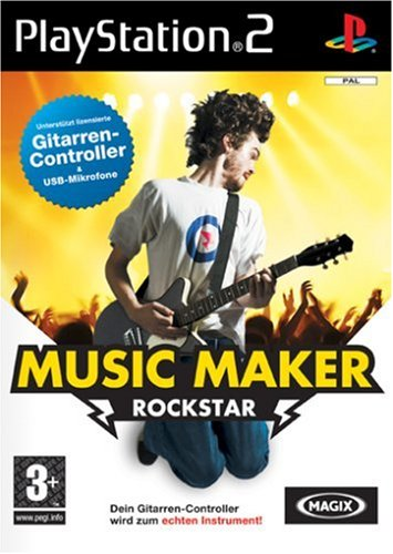 MAGIX Music Maker Rock Star PS2
