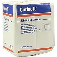 CUTISOFT Vlieskompressen 7,5x7,5 cm unsteril 100 St Kompressen preisvergleich bei billige-tabletten.eu