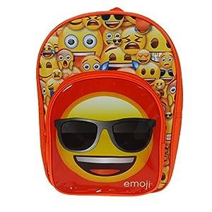 51tkJX7b7QL. SS300  - Emojis Mochila infantil Arch, 32 cm, 9 litros, color rojo