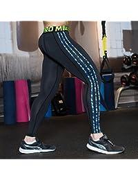UrChoiceLtd® 2017 GYM QX Hombre Corriendo Pantalones Deportivos De Los Hombres Compresión Llevar Entrenamiento Ropa De Secado Rápido Respirable Cómodo Polainas Base Elite Aptitud Thermal Wow (XL, Azul)