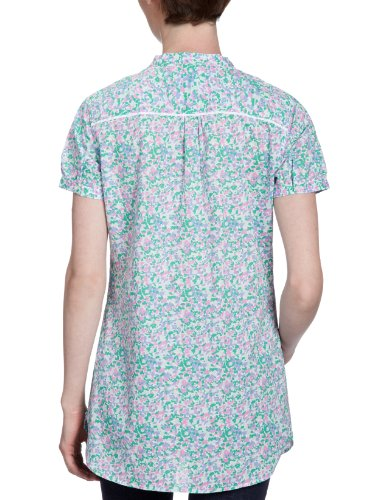 Tommy hilfiger chemisier pour femme/1M87613536 hIT dITSY pRT t-sHIRT sS Multicolore - Mehrfarbig (661 BEGONIA PINK/ MULTI)