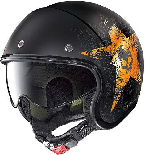 Casco Moto Nolan Helmet N21 Star Skull Jet 71 Talla