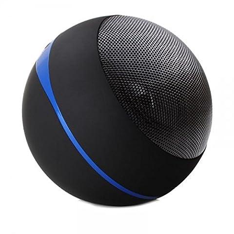 GOgroove Tragbar Bluetooth Lautsprecher mit AUX Input, Wiederaufladbar 16+ Stunden