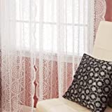 Best Home Fashion Curtain Rods - Best Home Fashion Sheer Lace Curtains - Rod Review