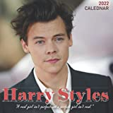 Harry Styles 2022 Calendar: Yearly Monthly 18-month Calendar 2022 with Large Grid for Planning, Scheduling, and Organizing